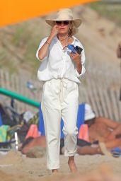 Naomi Watts on the Beach in the Hamptons 07/28/2020