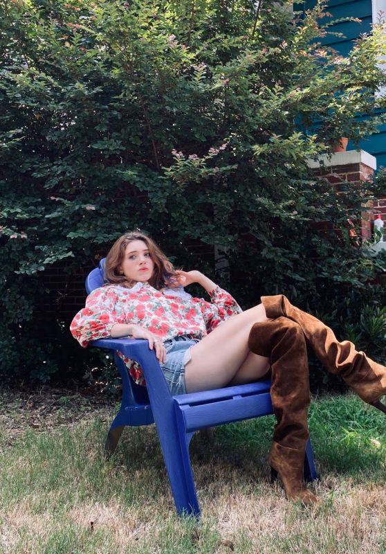 Natalia Dyer - Vogue Magazine July 2020