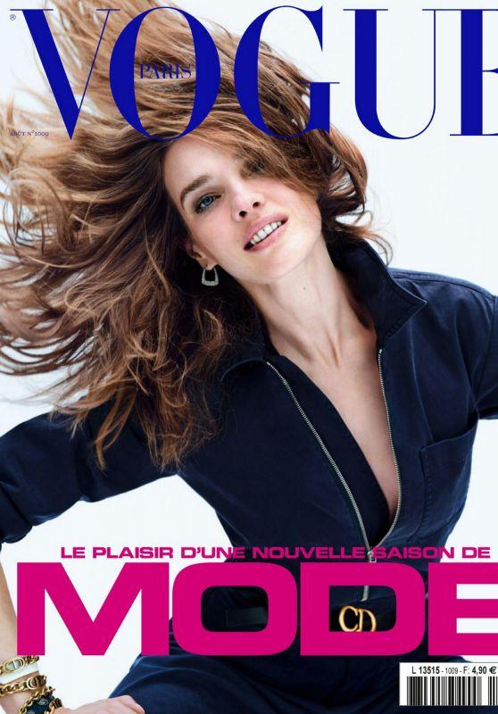 Natalia Vodianova - Vogue Paris August 2020 Issue