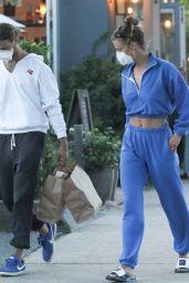 Nina Agdal - Leaving Tutto Il Giorno Restaurant in The Hamptons 07/23/2020