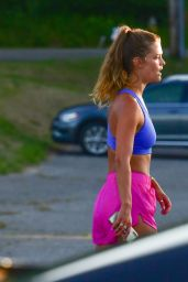 Nina Agdal With Her Boyfriend in The Hamptons 07/09/2020