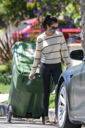 Nina Dobrev - Outside Her Home in West Hollywood 07/18/2020