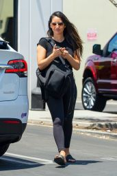 Olivia Munn - Leaving a Gym in Los Angeles 07/29/2020