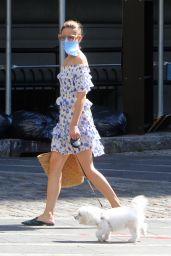 Olivia Palermo Summer Street Style - NYC 07/30/2020