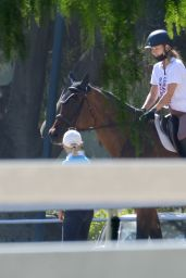 Olivia Wilde - Riding a Horse in Thousand Oaks 07/23/2020