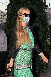 Paris Hilton - Arrives at The Ivy in LA 07/01/2020