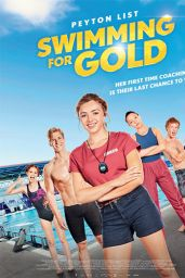 """Peyton List - """"Swimming For Gold"""" (2020) Poster and Photos"""