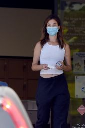 Rainey Qualley Stops by the Post Office in LA 07/27/2020