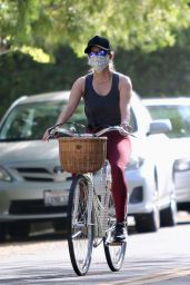 Reese Witherspoon - Bike Ride in Brentwood 07/14/2020
