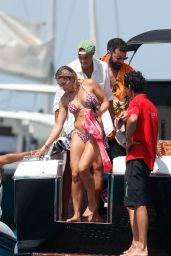 Rita Ora in a Bikini on a Boat in Ibiza 07/29/2020