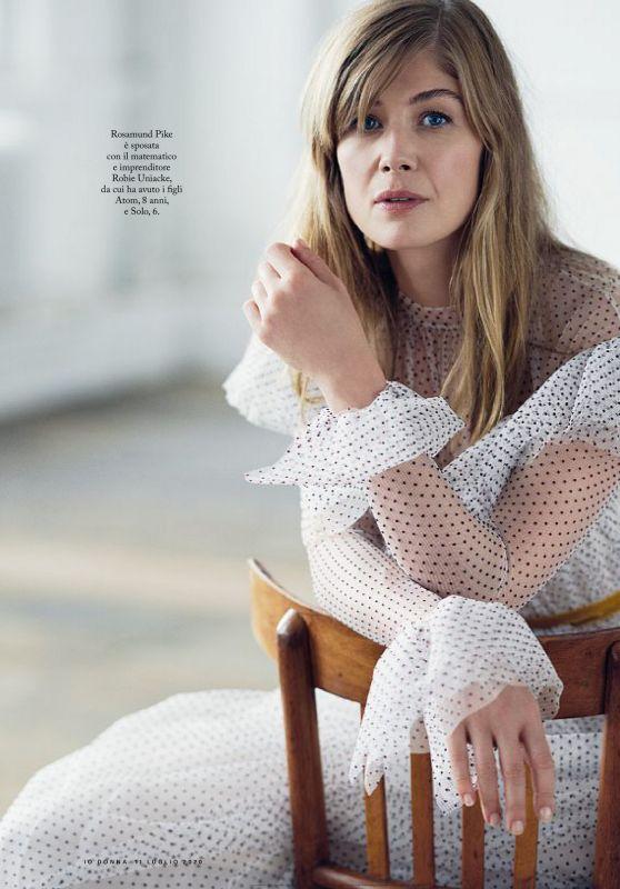 Rosamund Pike - Io Donna del Corriere Della Sera 07/11/2020 Issue