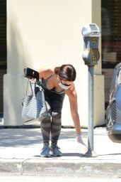 Roselyn Sanchez in Tights - Los Angeles 07/17/2020