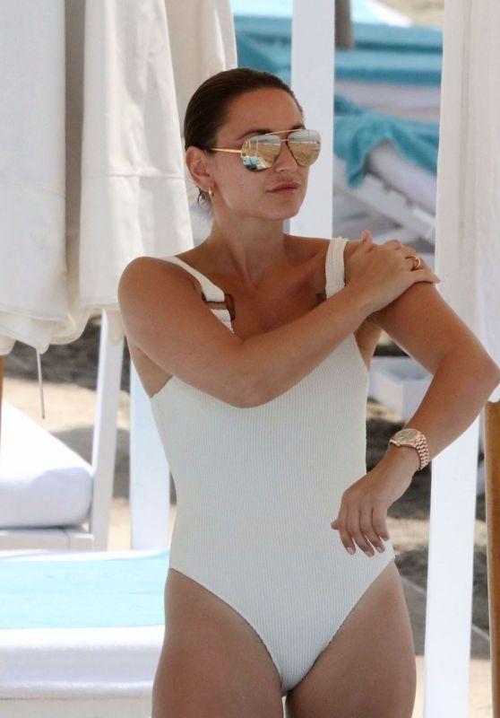 Sam Faiers in a Swimsuit - Beach in Spain 07/24/2020