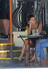 Sara Sampaio at Urth Caffe Melrose in West Hollywood 07/13/2020