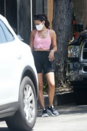 Sara Sampaio in Workout Gear - LA 07/07/2020