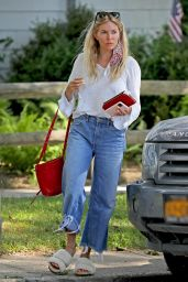 Sienna Miller - Heads Out for a Coffee in The Hamptons 07/15/2020