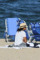 Solange Knowles at the Beach in The Hamptons 07/16/2020