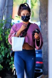 Vanessa Hudgens in Street Outfit - West Hollywood 07/15/2020