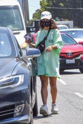 Vanessa Hudgens - Out in Los Feliz 07/20/2020