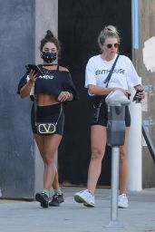 Vanessa Hudgens Outfit - Leaves a Gym in West Hollywood 07/22/2020