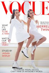 Veronica Merrell  and Vanessa Merrell - Vogue Magazine (Vogue Challenge) June 2020