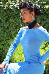 Yara Shahidi - Photoshoot for ELLE July 2020