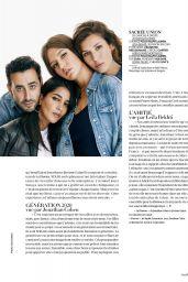 Adèle Exarchopoulos, Doria Tillier and Leïla Bekhti - Madame Figaro Magazine 08/21/2020 Issue