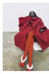 Adut Akech - Vogue Australia August 2020 Issue
