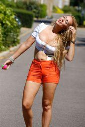 Aisleyne Horgan-Wallace in Shorts - London 08/16/2020