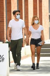 Alejandra Onieva and Sebastian Stan - Out For a Stroll in NYC 08/21/2020