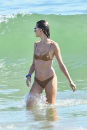 Alessandra Ambrosio – Beach in Malibu 08/01/2020