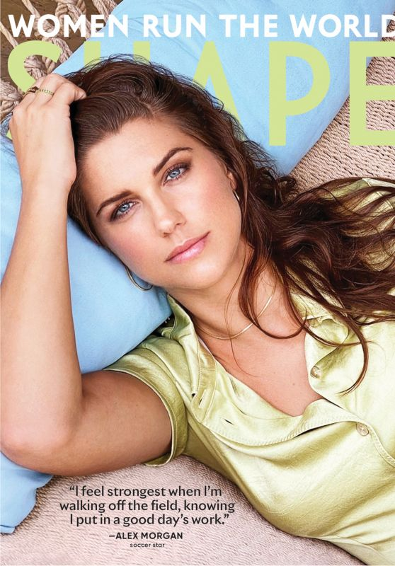 Alex Morgan - Shape Magazine USA September 2020 Issue