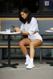 Alexandra Cane Leggy in Shorts - London 08/24/2020
