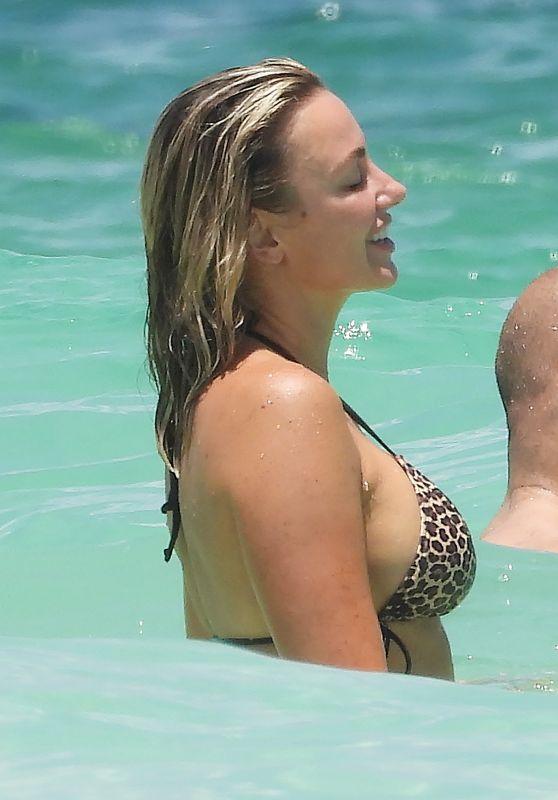 Amber Nichole Miller at Tulum Beach 08/16/2020