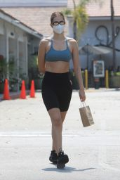 Amelia Gray Hamlin in Gym Ready Outfit - Beverly Hills 08/23/2020