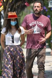 Ana De Armas and Ben Affleck - Shopping in Venice 08/20/2020