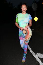 Anastasia Karanikolaou and Victoria Villarroel Night Out in Beverly Hills 08/21/2020