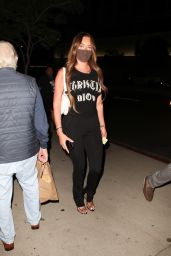 Anastasia Karanikolaou Night Out - BOA Steakhouse in West Hollywood 08/03/2020
