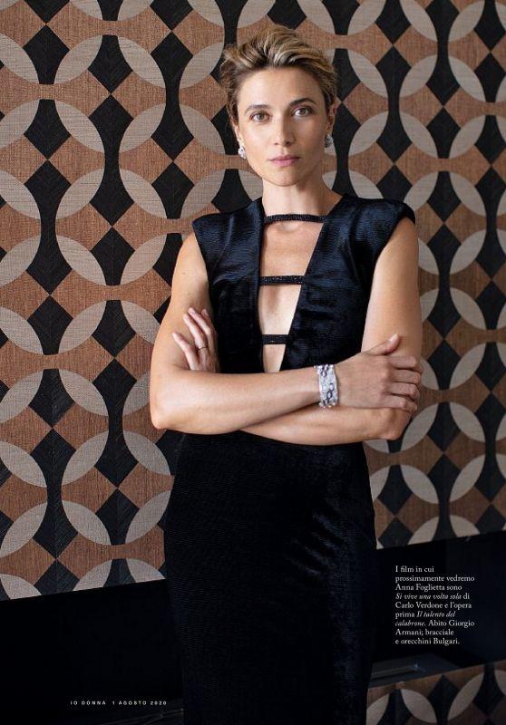Anna Foglietta - Io Donna del Corriere della Sera 08/01/2020 Issue