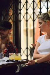 Ashley Benson - Out to Dinner With Boyfriend G-Eazy in LA 08/19/2020