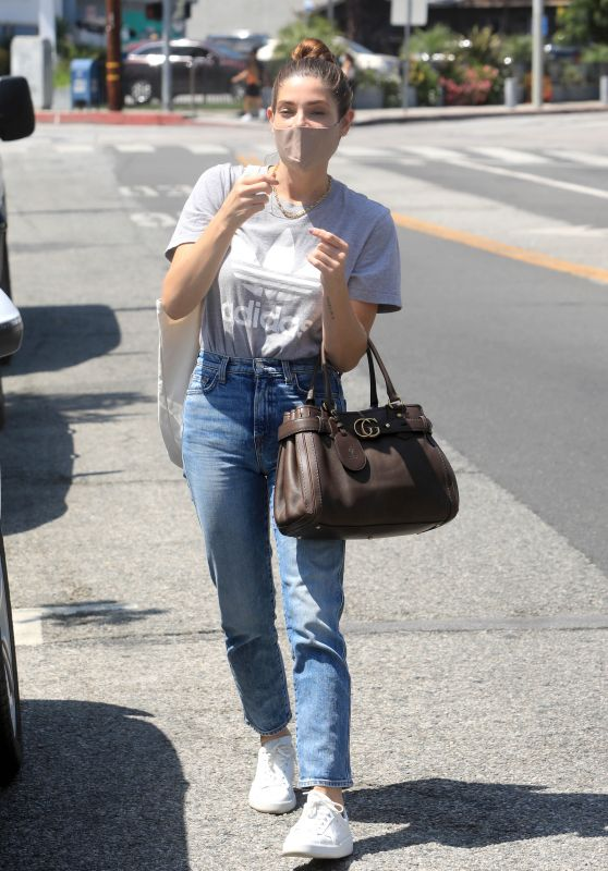 Ashley Greene in Casual Outfit - West Hollywood 08/05/2020