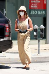 Ashley Tisdale - Shopping in Los Angeles 07/31/2020