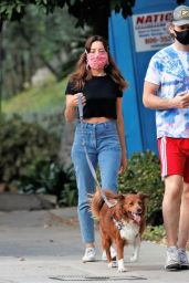 Aubrey Plaza and Jeff Baena - Out in Los Angeles 08/27/2020