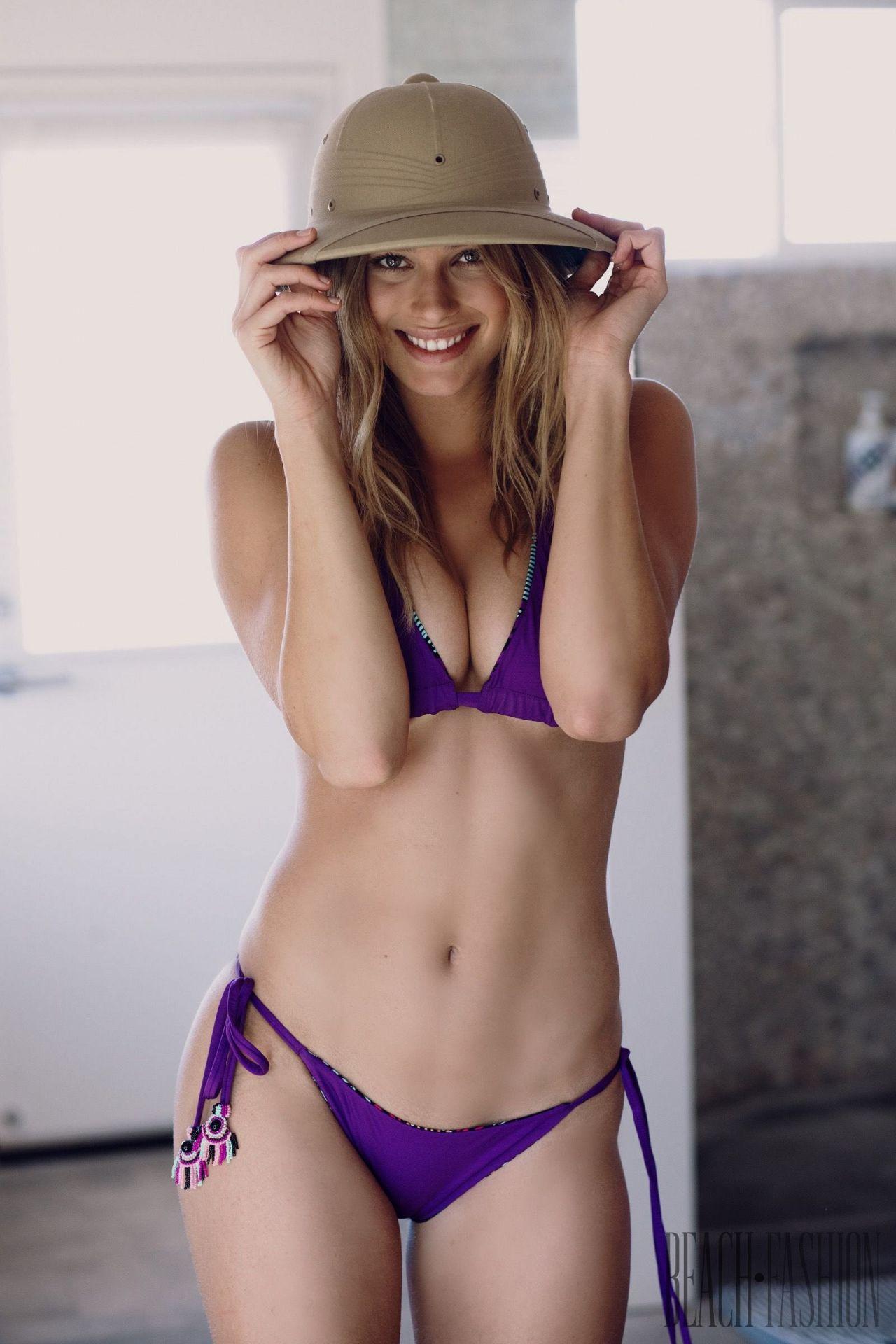 Aubrie Williams swimwear photoshoot