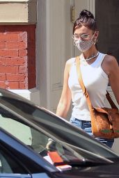 Bella Hadid - Leaving Her Apartment in NYC 08/27/2020