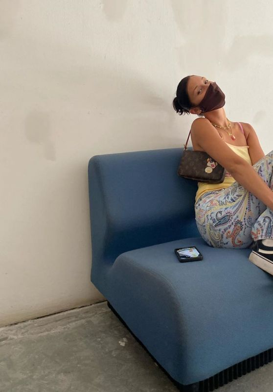 Bella Hadid - Social Media Photos 08/18/2020
