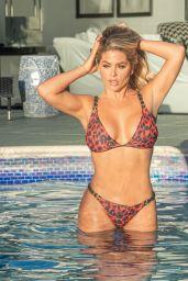 Bianca Gascoigne - Around the Pool in Croatia 08/18/2020