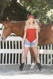 Brooklyn Clift - 138 Water Photoshoot in Calabasas 06/24/2020