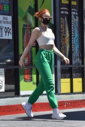 Camila Mendes and Madelaine Petsch at a Gas Station in LA 08/11/2020