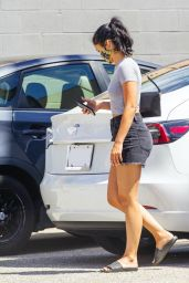 Camila Mendes - Heading to a Medical Dlinic in West Hollywood 08/13/2020